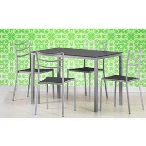 Freda matbord - Svart/Grå