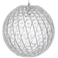 The Globe Taklampa - Kristall
