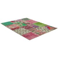 Äkta Patchwork-matta Persia - Blommigt mönster