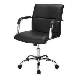 Almeria skrivbordsstol - svart