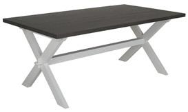 Matbord Whitewash : Handla från hela världen hos pricepi matbord amalfi cm vit