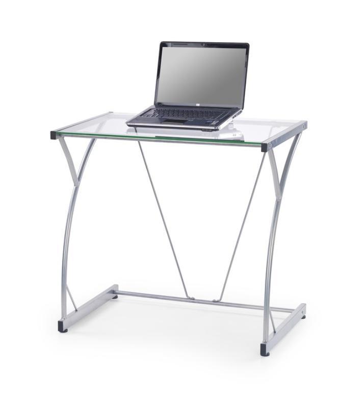 Grant skrivbord - transparent