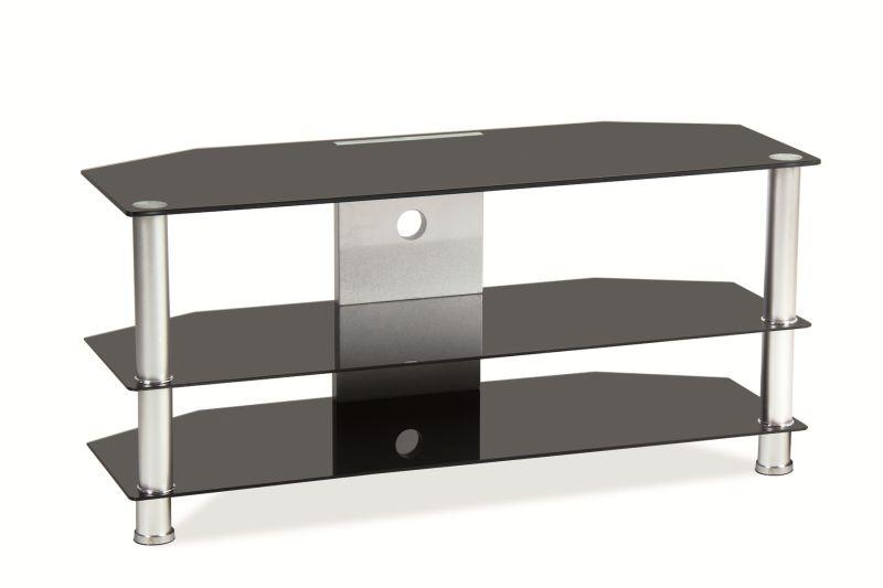 Tv-bänk Hurst svart