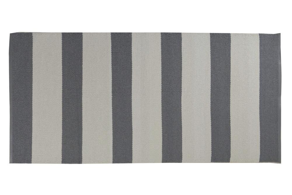 Plastmatta Stockholm - grå/vit
