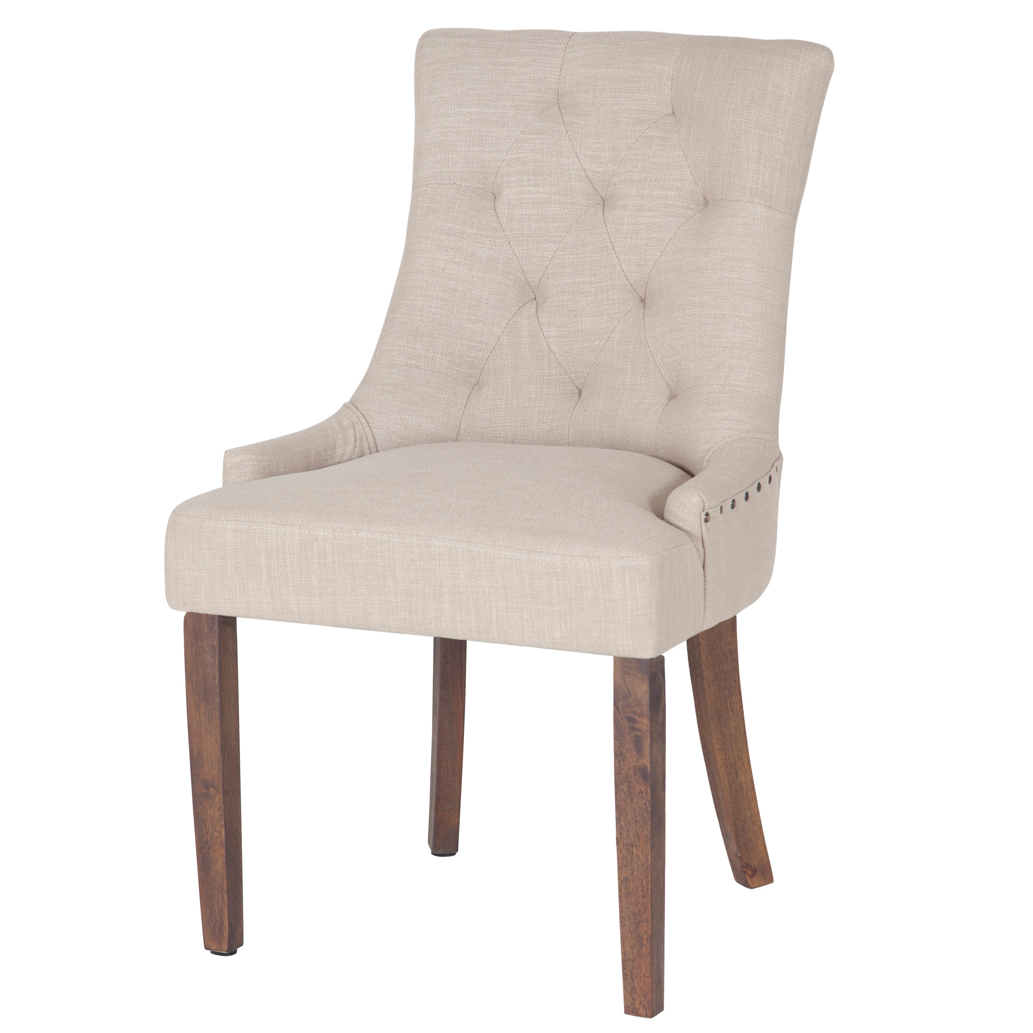 Tuva stol, beige - Bruna ben