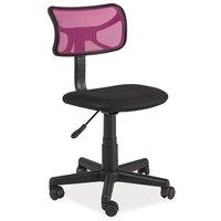 Clare skrivbordsstol - Svart/rosa