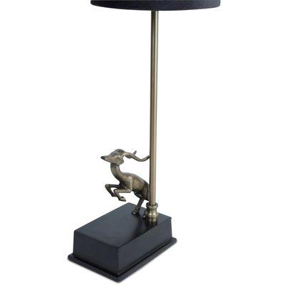 Antilop Lampfot H40 cm - Antik mässing