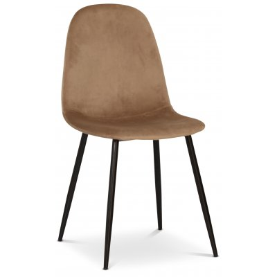 Carisma stol - Ljusbrun/svart