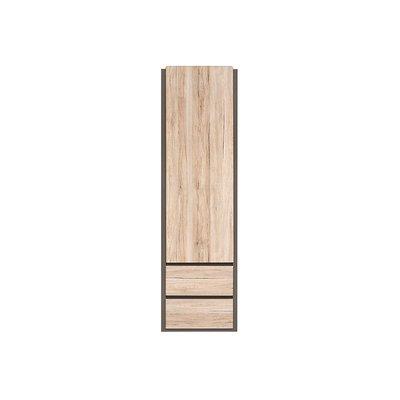 Runsala garderob - Ek/grå