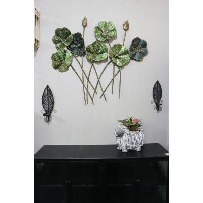 Viala väggdekoration - Grön vintage