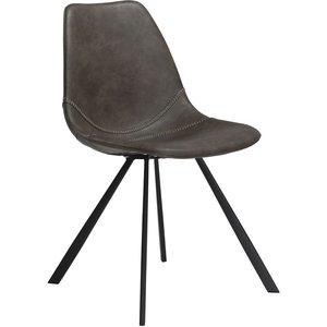 Pitch stol - Vintage grå / svart