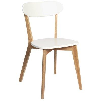 Arild stol - Vit/ek