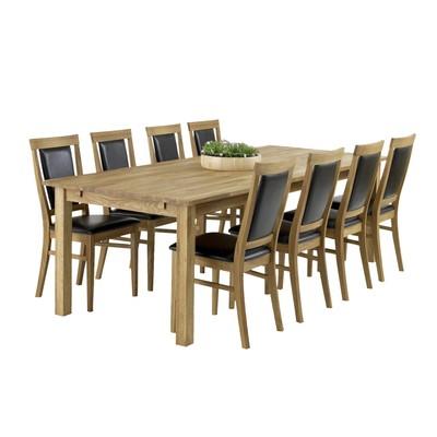 Stort matsalsbord 8 stolar