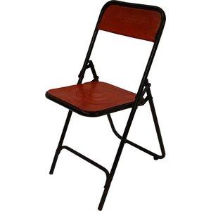 Vimmerby klappstol - Svart/röd