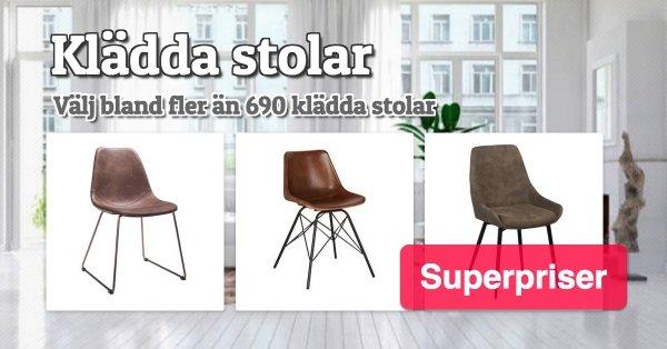 Klädda stolar - Superpriser - Välj bland fler än 690 stolar