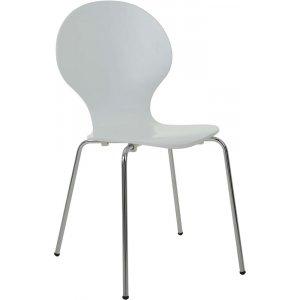 Arne stol - Vit / Krom