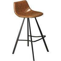 Pitch barstol - Ljusbrun / svart