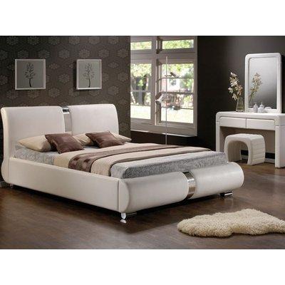 Säng Wauwatosa färg vit