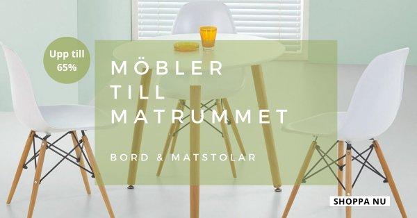 Bord & stolar - Upp till 65%