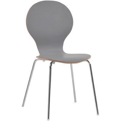 Bailey stol - Grå (HPL)/krom