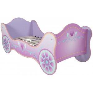 Barnsäng Princesssvagn - Rosa