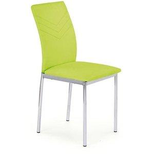 Stol Penny - Limegrön/krom