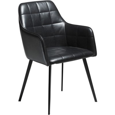 Embrace karmstol - Vintage svart