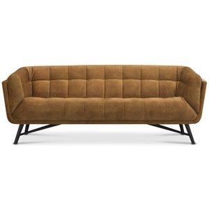 Lulu 3-sits soffa - Guld sammet