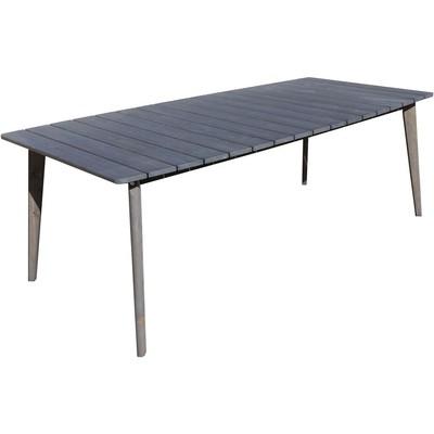 Rainbow matbord 209 cm - Grå