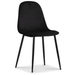 Carisma stol - Svart sammet