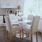 Piggar upp i h?stm?rkret med denna ljusa fr?scha bild fr?n @annashem_ Hampton stolar fr?n @trendrum ~ ~ ~ ~ #trendrum #interiordesign #interior #inredning #furniture #design #scandinaviandesign #home #homeinspo #inspiration #interior123 #picoftheday #potd #beautiful #style #decoration #decor #kitchen #dining #diningroom #sweden #swedish #kitchen #chair #hemma #webshop #nature #beige #hampton #white #k?k