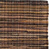 Handgjord matta - Home - Brun - Handvävd bomull