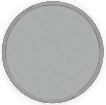 Velvet rund spegel 60cm - Beige/grå sammet