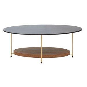 Becka soffbord - Trä/grå