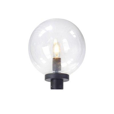 Sphere Lamphuvud - Svart/Klarglas