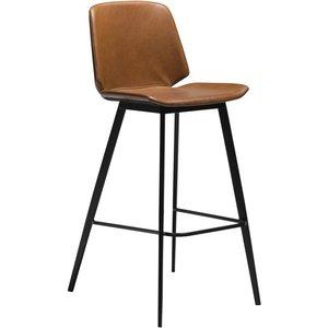Swing barstol - Vintage ljusbrun
