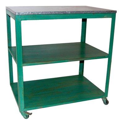Köksvagn - Vintage grön