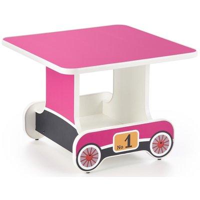 Tuffe barnbord 60x60 cm - Rosa