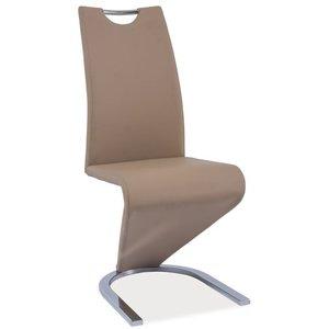 Lillie stol - Beige/krom