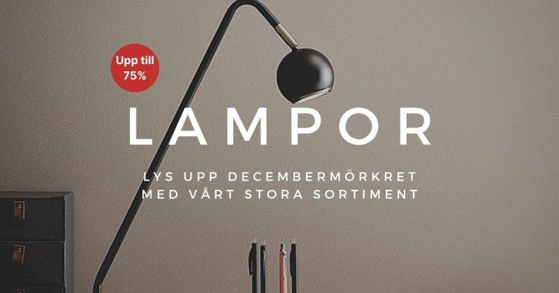 Lampor - Upp till 75%