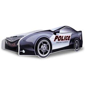 Polisbil barnsäng - 80x180 cm