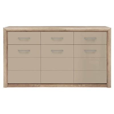 Pontus sideboard - Ek/beige