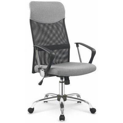 Colette skrivbordsstol - Svart/grå/Krom