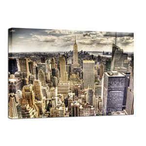 Canvastavla New York - 100x75 cm