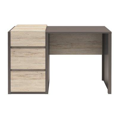Runsala skrivbord - Ek/grå