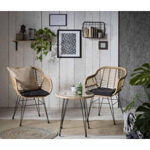 Skansholm utemöbelgrupp 2 stolar & bord - Konstrotting