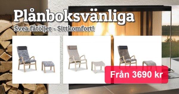Svea fåtöljer - Pris från 3690 kr
