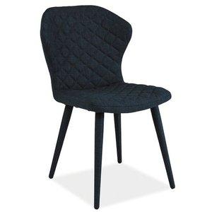 Zion stol - Blå/metall