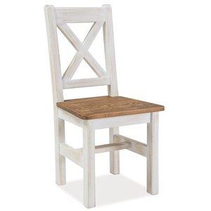 Vimle stol - Furu/brun