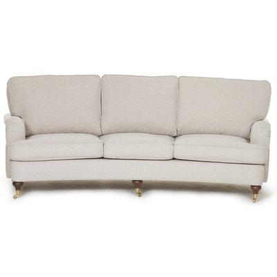 Howard Watford Deluxe 4-sits svängd soffa - Valfri färg!
